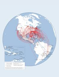 Latam Map Delta Routes Images Reverse Search
