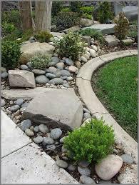 Best  River Rock Gardens Ideas On Pinterest Garden Ideas - Backyard river design