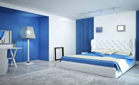 Bedroom Colors Blue With Ideas Design  KaajMaaja - Bedroom colors blue