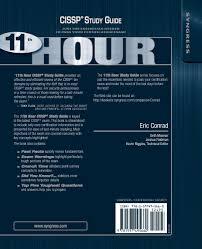 eleventh hour cissp study guide eric conrad seth misenar