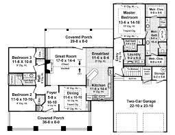 craftsman style house plan 3 beds 2 50 baths 1900 sq ft plan 21 346