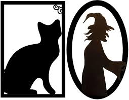 free halloween images halloween decorations ideas framed creepy silhouette