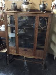 beautiful vintage china hutch cabinet