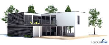 Home Plan Com Contemporary Home Plan With Three Big Bedrooms And Separate Family