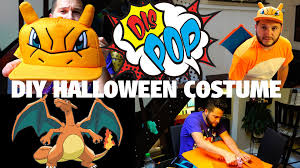 diy halloween costume on a budget feat charizard dis pop 09