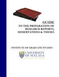Thesis writing apa format SlideShare GUIDE TO THE PREPARATION OF RESEARCH REPORTS DISSERTATIONS amp THESES INSTITUTE OF GRADUATE     FAMU Online