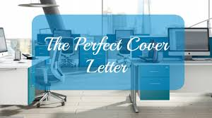 The Perfect Cover Letter Atwood Tate