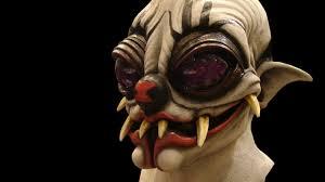 spider killer clown halloween mask youtube