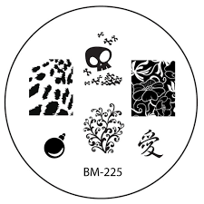 2011 collections nail stamping plate bm 225 u2013 bundle monster