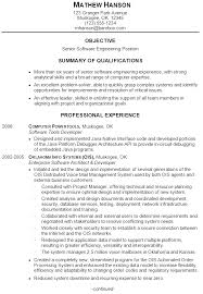 Sample Resume For Senior Manager by Resume Sample For A Senior Software Engineer Susan Ireland Resumes