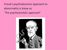 Learn about   key assumptions of the psychodynamic approach     Have a go at applying