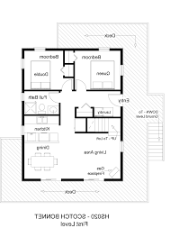 Small 3 Bedroom House Floor Plans by Home Design 2 Bedroom House Simple Plan Floor Plans Image Inside