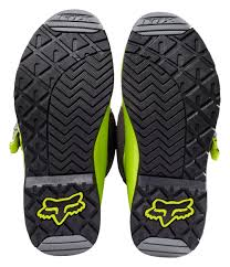 green motocross boots fox racing youth comp 5 boots cycle gear