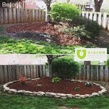 Berm Homes by This Before And After Picture Shows How Much Better This Tree Berm