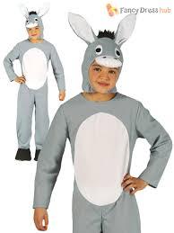 childs donkey ox cow costume boys girls christmas nativity fancy