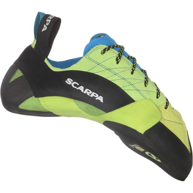 Scarpa Mago Climbing Shoes Bright Lime Medium 42 70057/000-Brlim-42