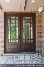 bevelled glass door wooden door with beveled glass and prairie grills custom wood