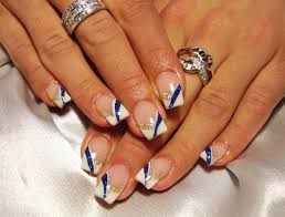 white french nail art gallery