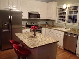 traditional kitchen with raised panel u0026 kitchen island in clayton