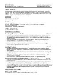 Retail Professional Summary Objective For Resume Accounting Splixioo