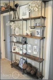 remodelaholic build a budget friendly industrial shelf using pvc