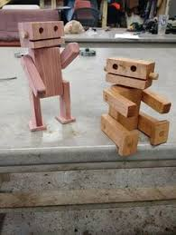 Fun Woodworking Projects For Beginners by Diy Wooden Robot Buddy Easy Project For Kids Wooden Toys