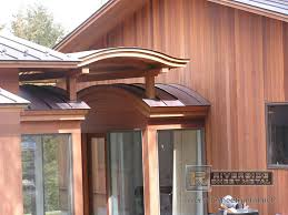 radius standing seam copper roof panels metal roofing