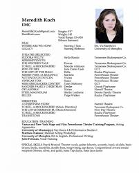actors resume examples a good sample acting theater resume template with photo acting a good sample acting theater resume template with photo