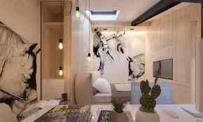 attic conversion creates a warm contemporary home with floor 17