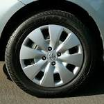 2010 Toyota Yaris wheel