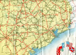 Texas Map Austin by Old Highway Maps Of Texas