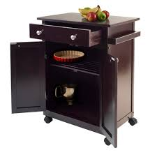 amazon com winsome savannah kitchen cart bar u0026 serving carts