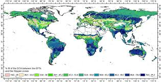 Dca Map Remote Sensing Free Full Text Global Biogeographical Pattern