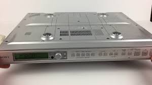 sony icf cd553rm kitchen under cabinet mount spacesaver stereo cd
