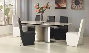 marble dining table and 8 chairs latest home decor and design