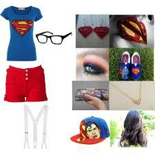 Supergirl Halloween Costume Halloween Costume Party Louis Tomlinson Supergirl Polyvore