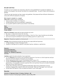 Sample Resume Summary Statement  cover letter sample summary