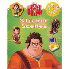 disney wreck ralph sticker scenes disney sticker books