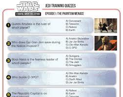 star wars jedi training quizzes disney family