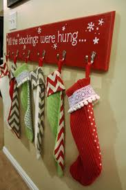 6 weeks of holiday diy week 1 diy stocking hangers diy