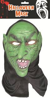 new horrer face mask fancy dress creepy clown latex halloween