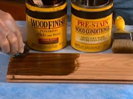Stain Unfinished Kitchen Cabinets by Tips On Staining Wood Diy