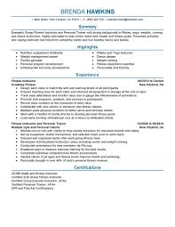 Perfect Cover Letter Uk Best Fitness And Personal Trainer Resume Example Livecareer