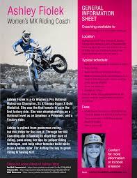how to ride motocross bike ashley fiolek mx clinic for girls transworld motocross