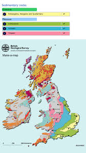 Map Of Ireland And England Make A Map A Geological Map Of Britain And Ireland British