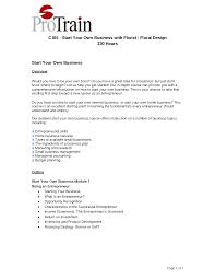 Starting A Business Plan Template Business Plan Template For Florist