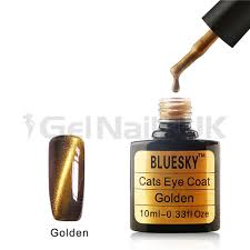 bluesky cat eye coat magnetic uv led soak off gel nail polish 10ml