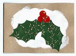 handmade cards christmas holly card mrs fox u0027s life home