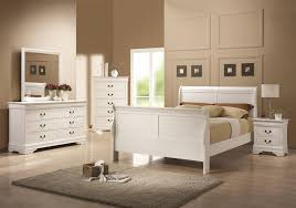 White Bedroom Collections Louis Phillipe Kendrys Furniture Miami