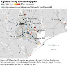 Washington Traffic Map by Houston U0027s Polluted Superfund Sites Threaten To Contaminate